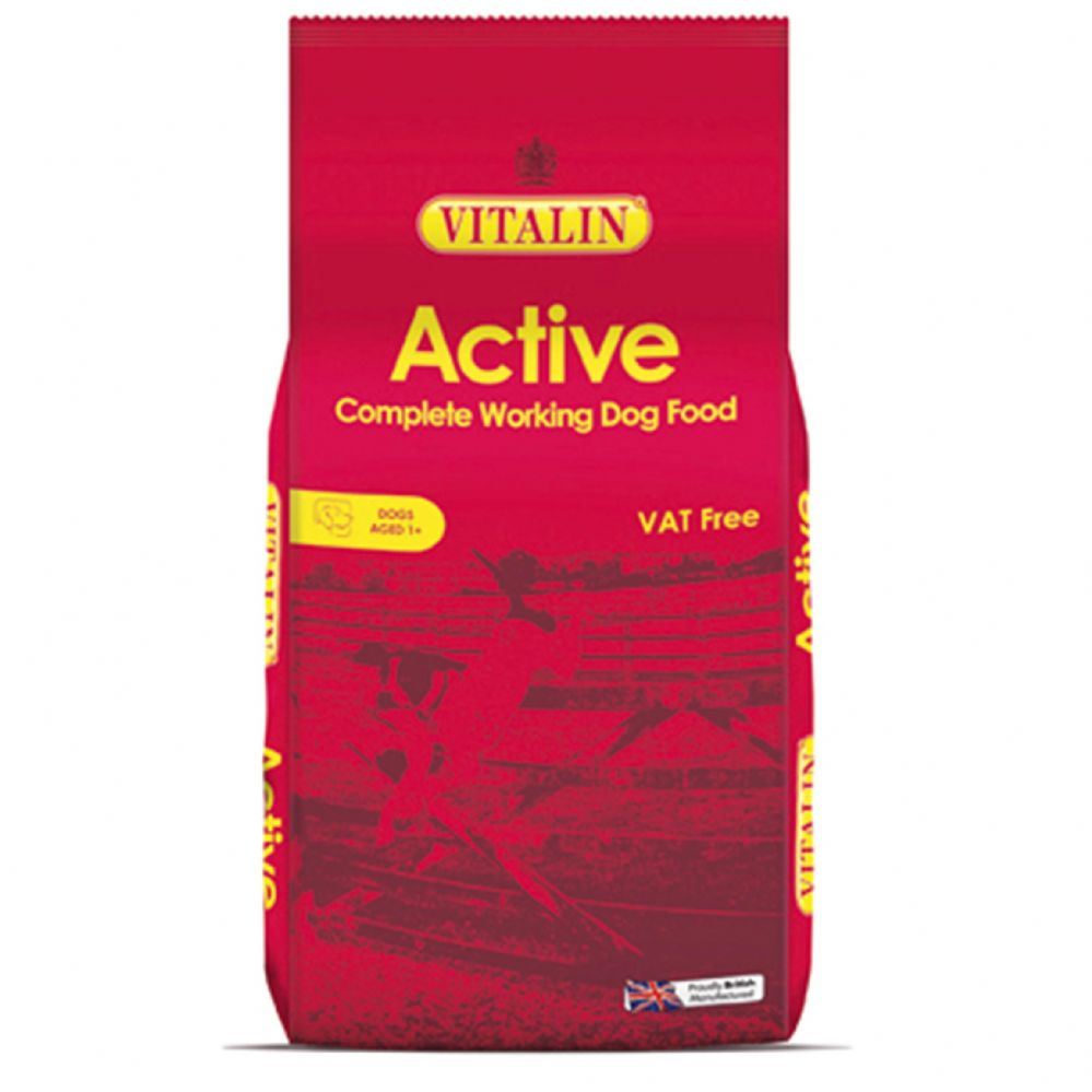 15kg Vitalin Active - Complete Adult Dog Food
